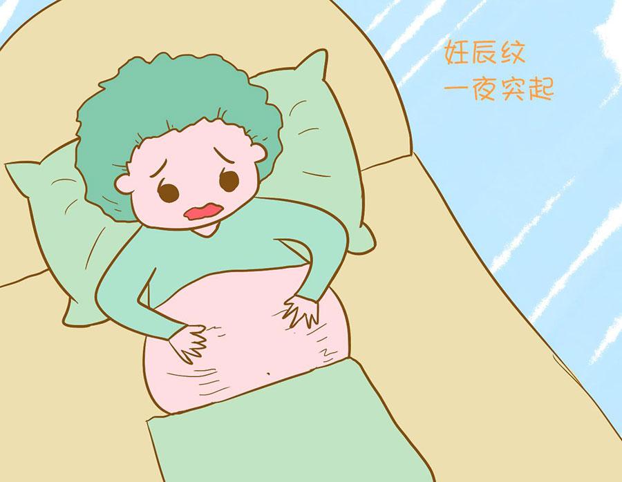 月子里怎样去妊娠纹 第4张-备孕-孕期检查-孕产妇食谱-胎教育儿